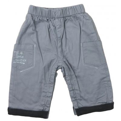 Pantalon doublé - SUCRE D'ORGE - 6 mois (67)