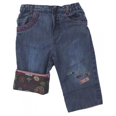 Jeans convertible - COMPAGNIE DES PETITS - 12 mois