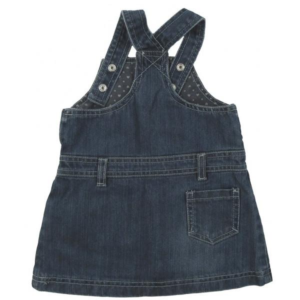 Robe en jeans - GRAIN DE BLÉ - 6 mois (67)