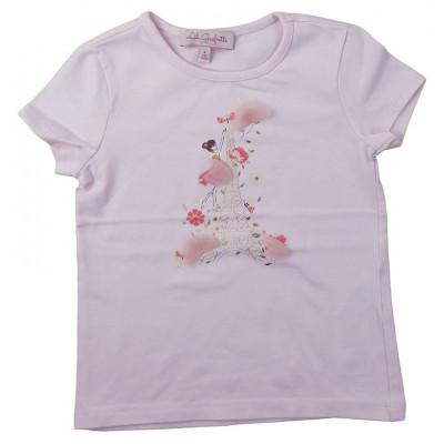 T-Shirt - LILI GAUFRETTE - 4 ans