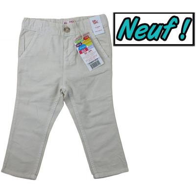 Pantalon en lin neuf - DPAM - 12 mois (74)