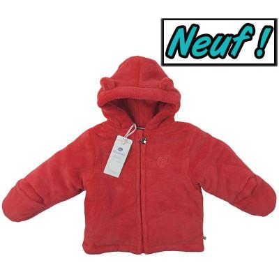 Manteau polaire neuf - NOUKIE'S - 12 mois (80)