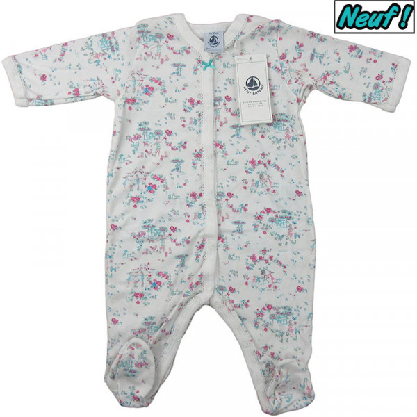 Pyjama neuf - PETIT BATEAU - 3 mois (60)