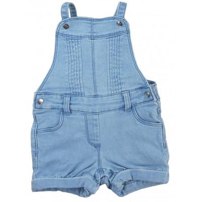 Combi-Short en jeans - TAPE A L'OEIL - 18 mois (80)
