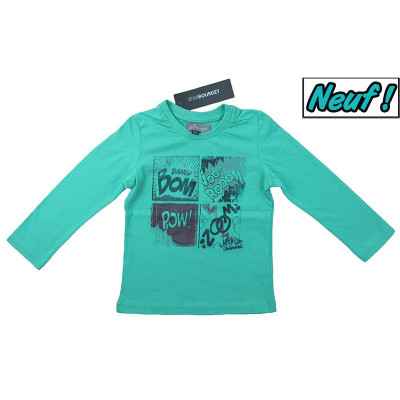 T-Shirt neuf - JEAN BOURGET - 2 ans (86)