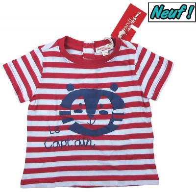 T-Shirt neuf - DPAM - 18 mois (80)