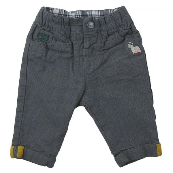 Pantalon doublé - SERGENT MAJOR - 3 mois (59)