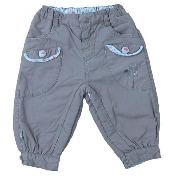 Pantalon doublé polaire - SERGENT MAJOR - 9 mois (71)