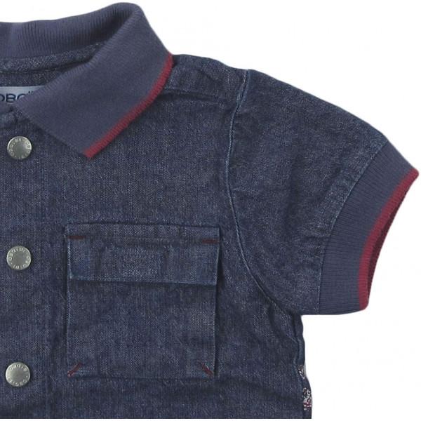 Chemise en jeans - OBAÏBI - 6 mois (68)