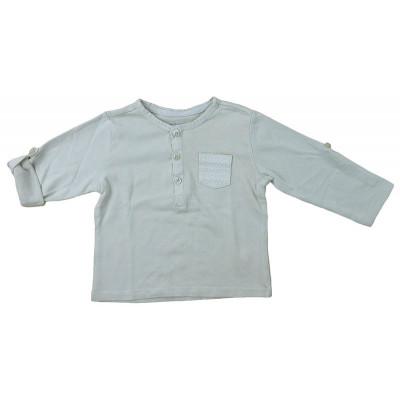 T-Shirt convertible - VERTBAUDET - 12 mois (74)