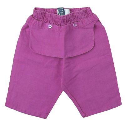 Pantalon en lin - JEAN BOURGET - 12 mois (80)