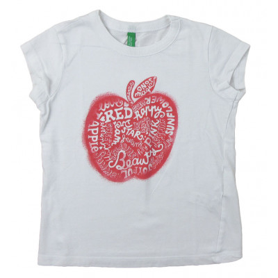 T-Shirt - BENETTON - 3-4 ans (100)