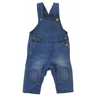 Salopette jeans - DPAM - 6 mois (68)