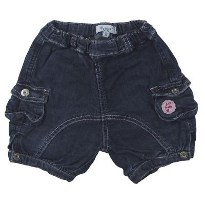 Short en jeans - ALPHABET - 12 mois