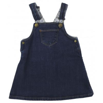 Robe en jeans - PETIT BATEAU - 12 mois (74)