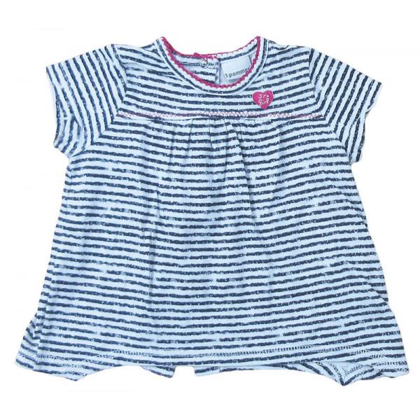 T-Shirt - 3 POMMES - 3 mois (60)