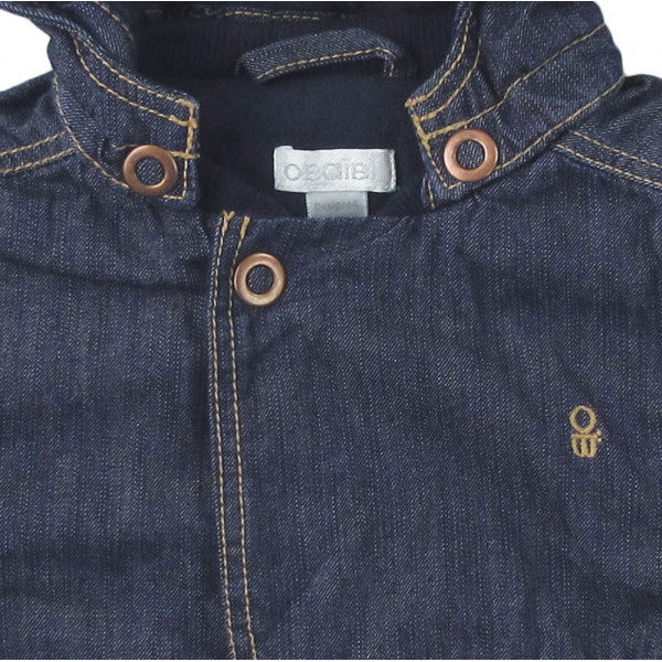 Veste en jeans - OBAÏBI - 6 mois (68)