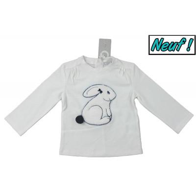 T-Shirt neuf - GYMP - 9 mois (74)