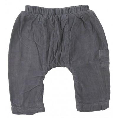 Pantalon doublé - VERTBAUDET - 3 mois (60)