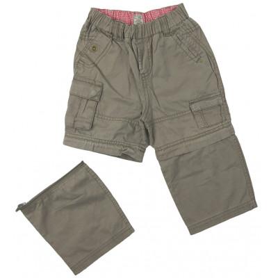 Pantalon convertible - GRAIN DE BLÉ - 18 mois (80)