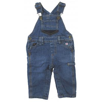 Salopette en jeans doublée - WEEKEND A LA MER - 6 mois