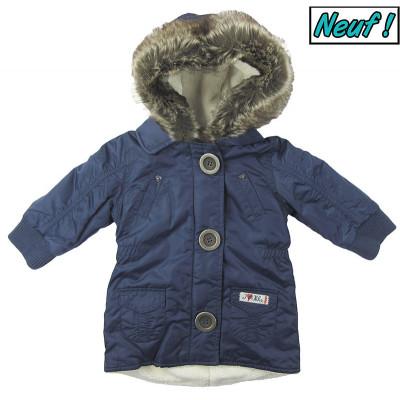 Manteau neuf doublé polaire - IKKS - 6 mois (67)