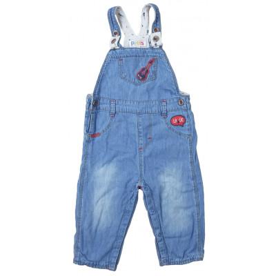 Salopette en jeans - COMPAGNIE DES PETITS - 9 mois
