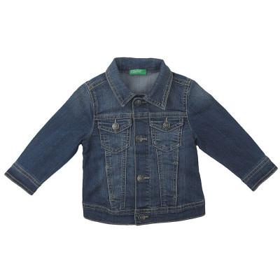 Veste en jeans - BENETTON - 12-18 mois (82)