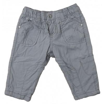 Pantalon doublé polaire - VERTBAUDET - 6 mois (67)