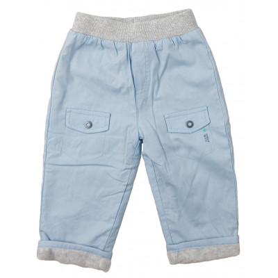 Pantalon doublé polaire - SUCRE D'ORGE - 9 mois (71)