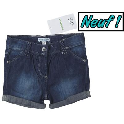 Short en jeans neuf - VERTBAUDET - 18 mois (81)