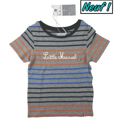 T-Shirt neuf - LITTLE MARCEL - 3-4 ans (96-102)