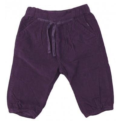 Pantalon doublé - OBAÏBI - 12 mois (74)