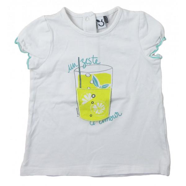 T-Shirt - 3 POMMES - 9-12 mois (80)