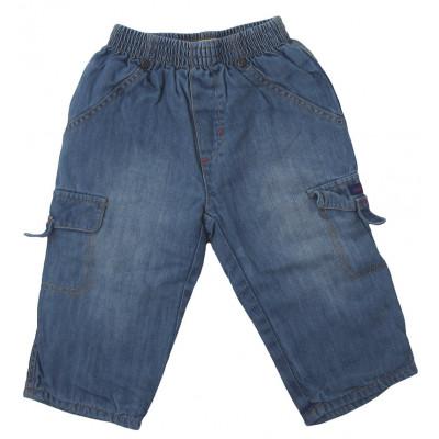 Jeans doublé - CATIMINI - 6 mois (67)