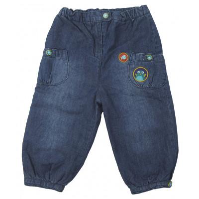 Jeans doublé polaire - DPAM - 12 mois (74)