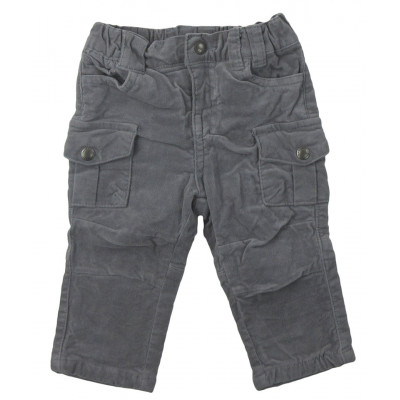 Pantalon doublé - VERTBAUDET - 6 mois (67)
