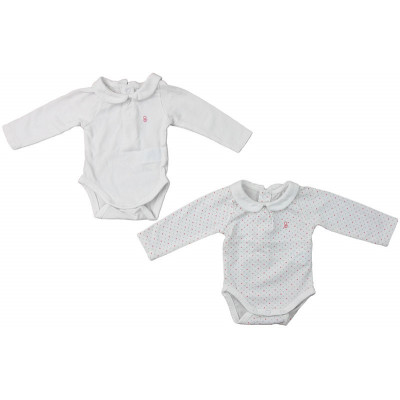 Body (lot de 2) - OBAÏBI - 1 mois (53)