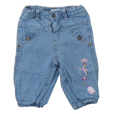 Jeans doublé - COMPAGNIE DES PETITS - 3 mois