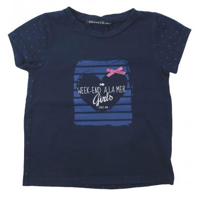T-Shirt - WEEKEND A LA MER - 4 ans