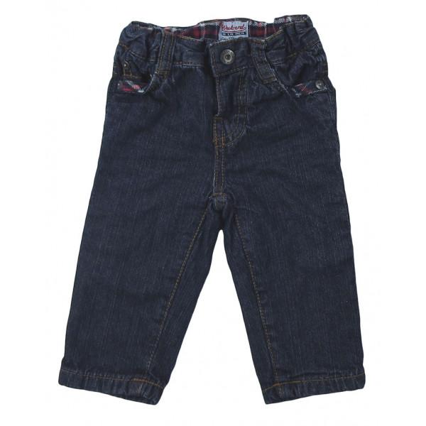 Jeans doublé - WEEKEND A LA MER - 3 mois