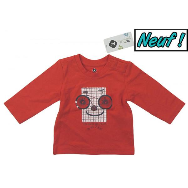 Nieuw T-shirt - GRAIN DE BLE - 3 maanden (59)