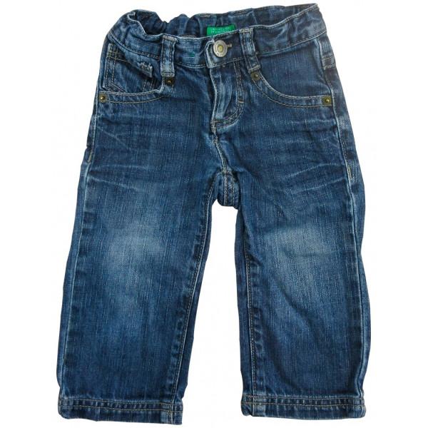 Jeans - BENETTON - 9 mois (74)