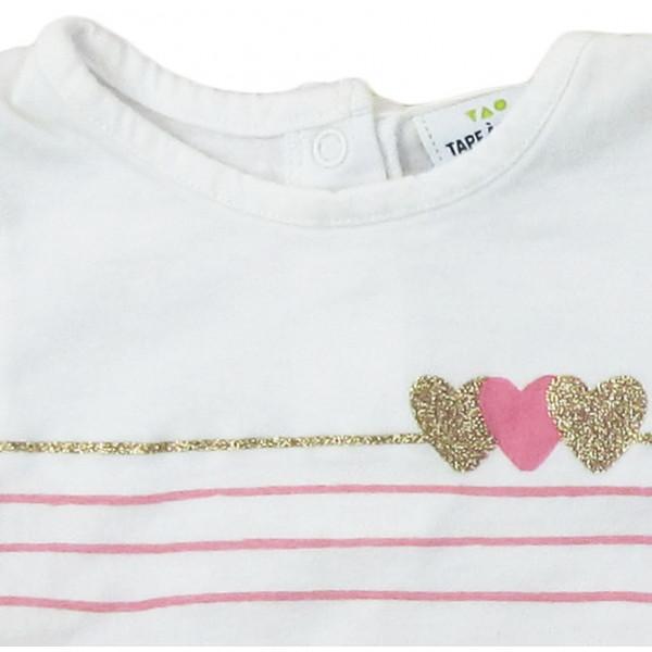 T-Shirt - TAPE A L'OEIL - 3 maanden (60)