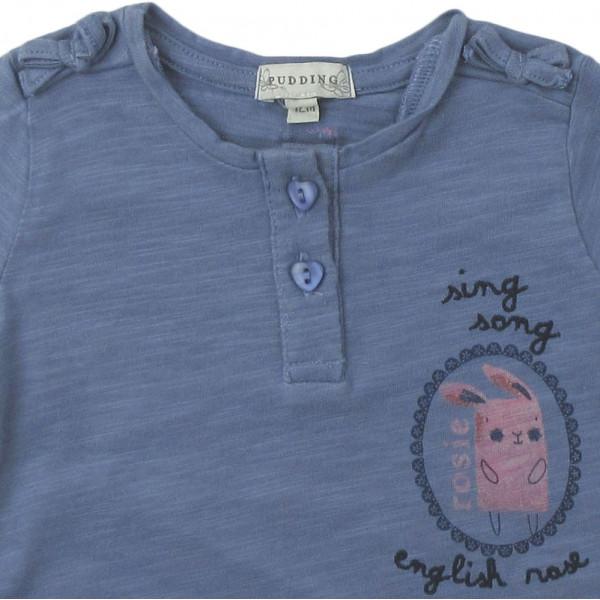 T-Shirt - PUDDING - 12 maanden