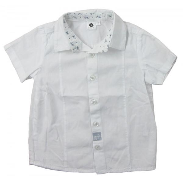 Overhemd - GRAIN DE BLÉ - 18 maanden (80)