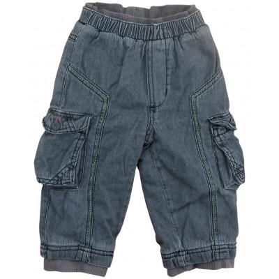 Jeans doublé polaire - 12 mois (74)