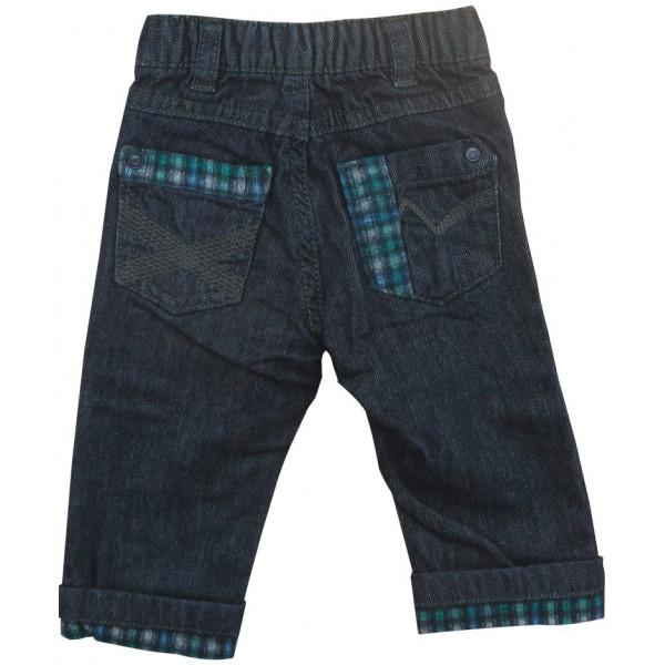 Gevoerde jeans - GRAIN DE BLÉ - 6 maanden (68)