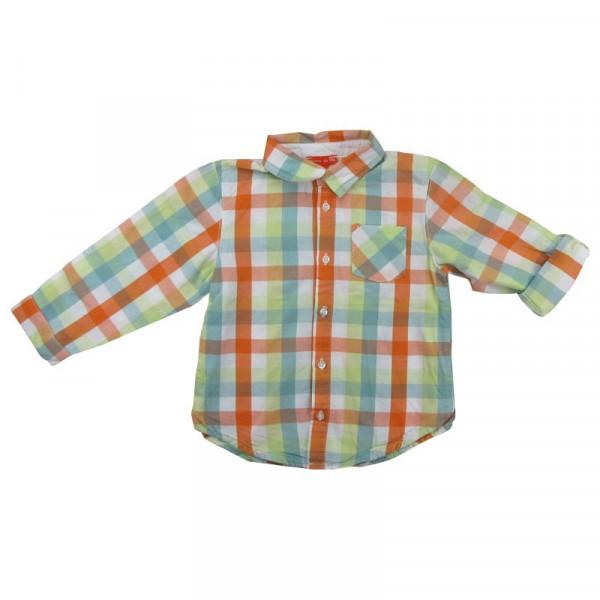Omvormbaar overhemd - GRAIN DE BLÉ - 2 jaar (86)