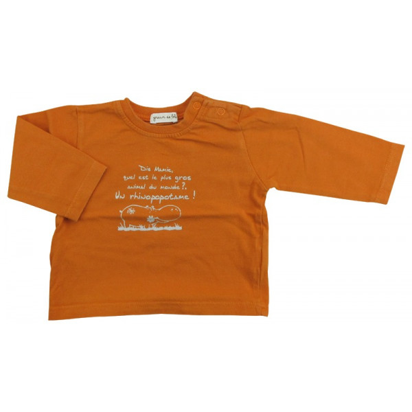 T-Shirt- GRAIN DE BLÉ - 6 mois (67)